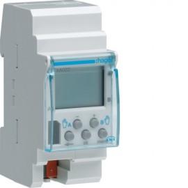 TXA022 - Interrupteur horaire KNX 2 voies 7 jours - Hager