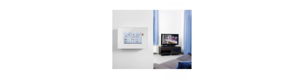 Thermostat et programmateur de chauffage Somfy