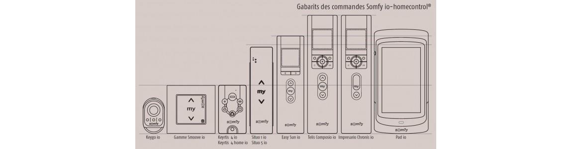 Télécommandes IO homecontrol