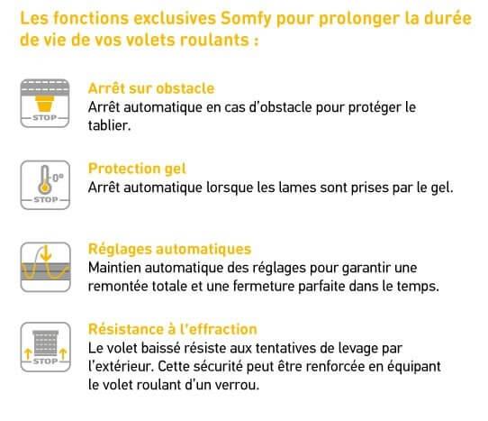 Kit De Remplacement Pour Moteur Volet Roulant Io Somfy 2401530